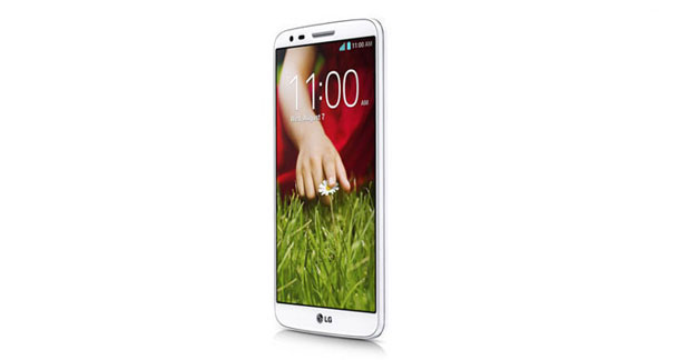 LG G2 4G LTE Side View