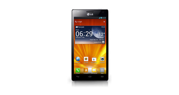 LG Optimus 4X HD Front View