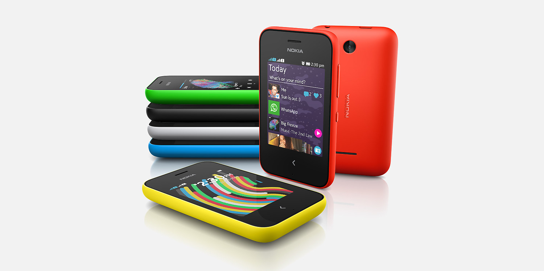 Nokia Asha 230 Overall View