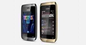 Nokia Asha 310 Front View