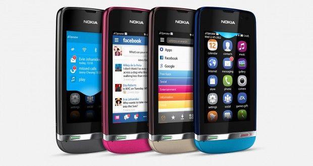 Nokia Asha 311 Front View