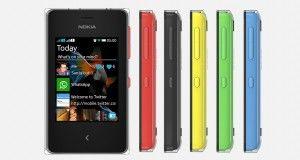 Nokia Asha 500 Overall View