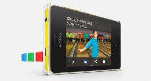 Nokia Asha 502 Front View