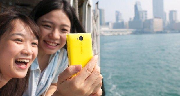 Nokia Asha 503 Back View