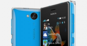 Nokia Asha 503 Front and Back View