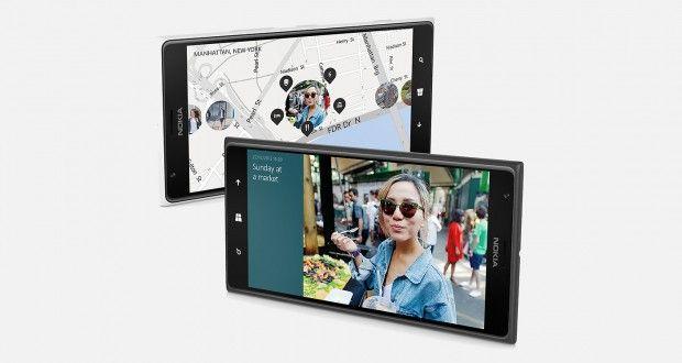 Nokia Lumia 1520 Front View
