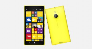 Nokia Lumia 1520 Front and Back View
