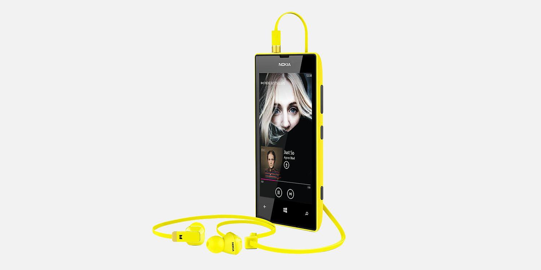 Nokia Lumia 520 Front View
