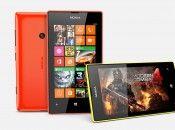 Nokia Lumia 525 Horizontal View