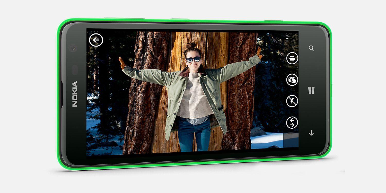 Nokia Lumia 625 Horizontal View