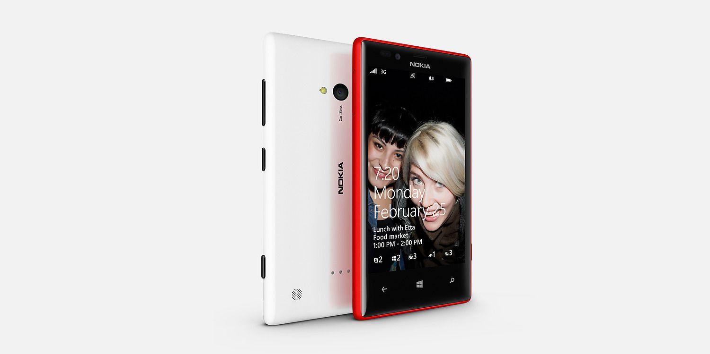 Nokia Lumia 720 Side View