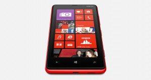 Nokia Lumia 820 Front View