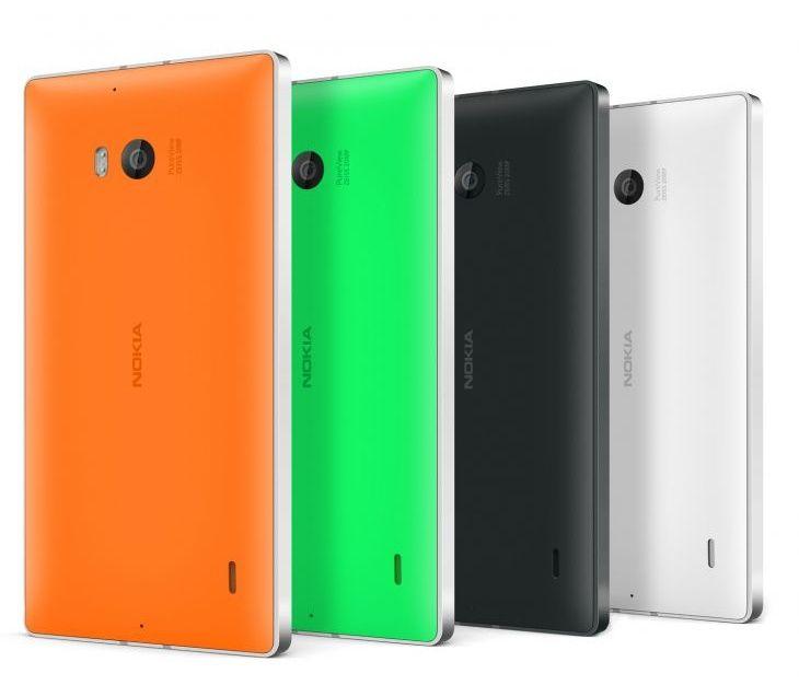 Nokia Lumia 930 Back View