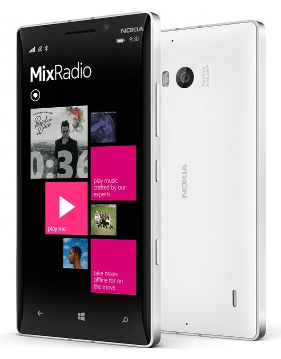 Nokia Lumia 930 Front View