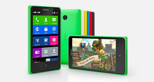 Nokia X Overall View