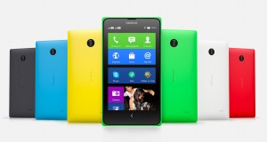 Nokia X Plus Front and Back View