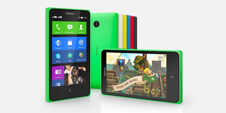 Nokia X Plus Overall View