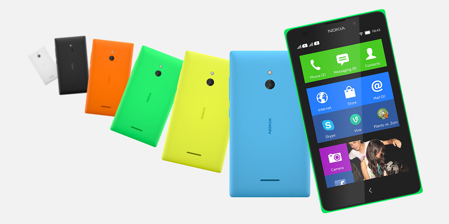 Nokia XL Overall View