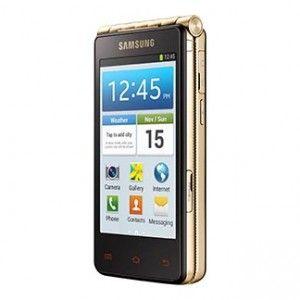 Samsung Galaxy Golden Side View