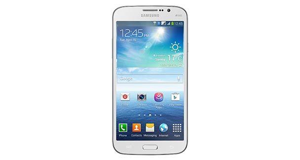 Samsung Galaxy Mega 5.8 Front View