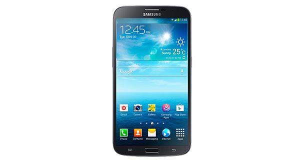 Samsung Galaxy Mega 6.3 Front View