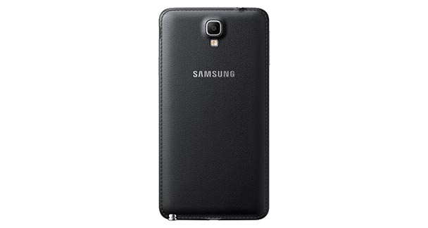 Samsung Galaxy Note 3 Neo Back View