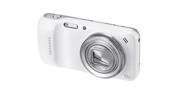 Samsung Galaxy S4 Zoom Lens view