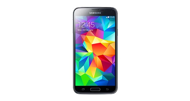 Samsung Galaxy S5 Front View