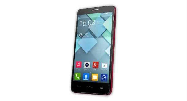 Alcatel One Touch Idol S Front View