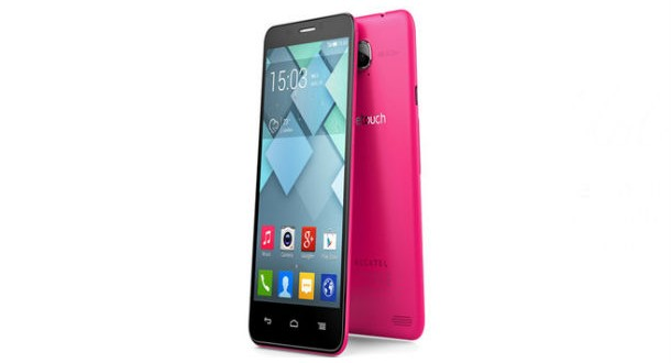 Alcatel One Touch Idol S Overall View