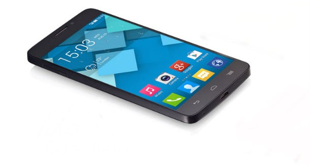 Alcatel One Touch Idol X Front View