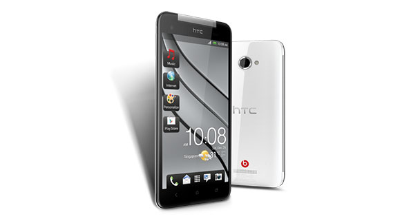 HTC Butterfly Front and Back View
