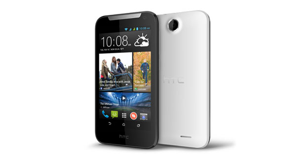 HTC Desire 310 dual sim Front and Side View
