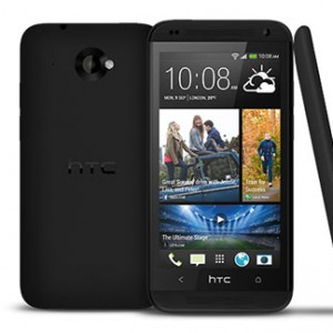 HTC Desire 601 dual sim Front and Side View