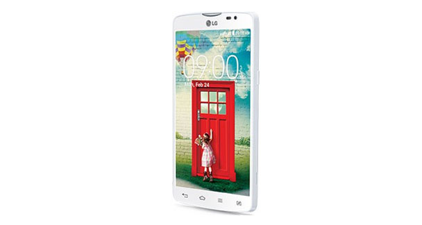 LG L80 Dual D380 Front and Side View