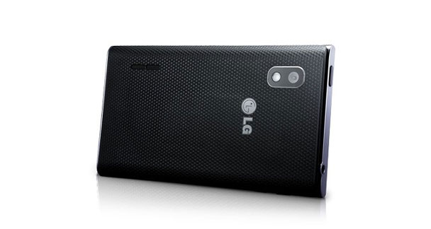 LG Optimus L5 E612 Horizontal Back View
