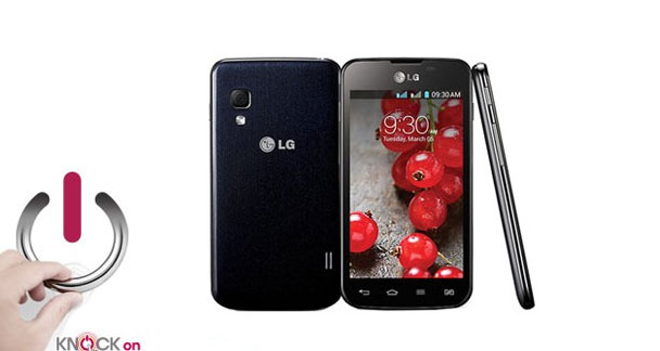 LG Optimus L5II Dual E455 Overall View