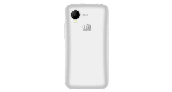 Micromax Bolt A082 Back View
