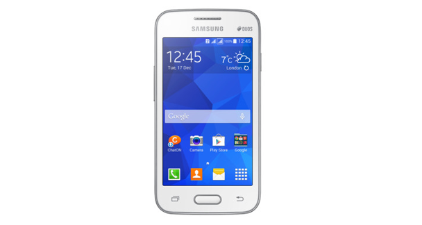 Samsung Galaxy Ace Nxt Front View