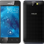 XOLO B700 Front and Back View
