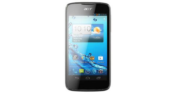 Acer Liquid Gallant E350 Front View