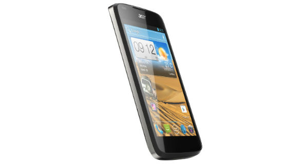 Acer Liquid Gallant E350 Front and Side View