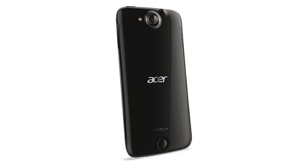 Acer Liquid Jade Back and Side View