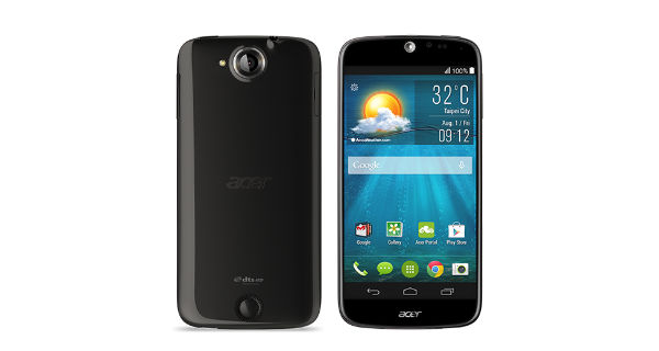 Acer Liquid Jade Front and Back View
