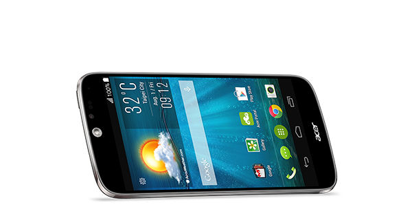 Acer Liquid Jade Horizontal View