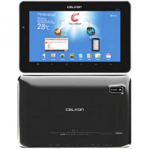 Celkon CT1 Tab Overall View