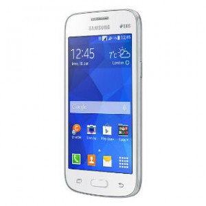 Samsung Galaxy Star Advance Front and Side View