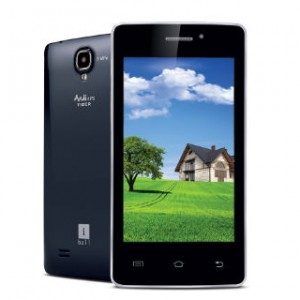 IBall Andi4 IPS Tiger Front and Back View