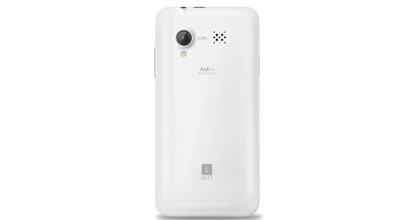 Iball Andi 4.5 Ripple 3G Back View