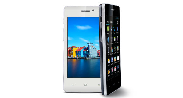 Iball Andi4 IPS Velvet Front and Side View